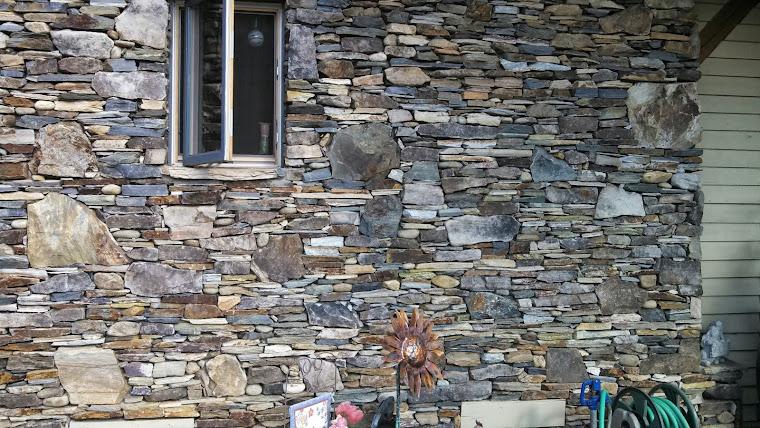 drystack stone wall
