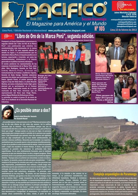 Revista Pacífico Nº 105 Arqueología