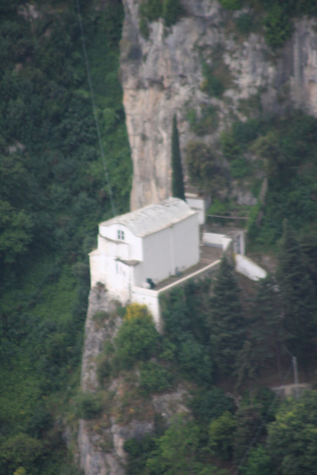The shaw adventure update from the amalfi coast House built into mountain
