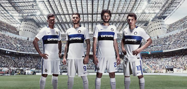 Nueva camiseta suplente Nike del Inter de Milán