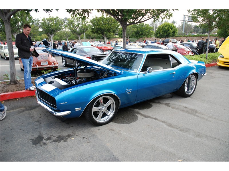 how old is a classic car: 68 Camaro SS