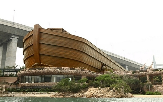 فندق رائع الصين مستوحى سفينة
