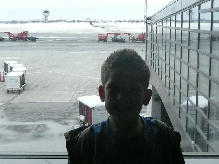 Jonathan avant le départ