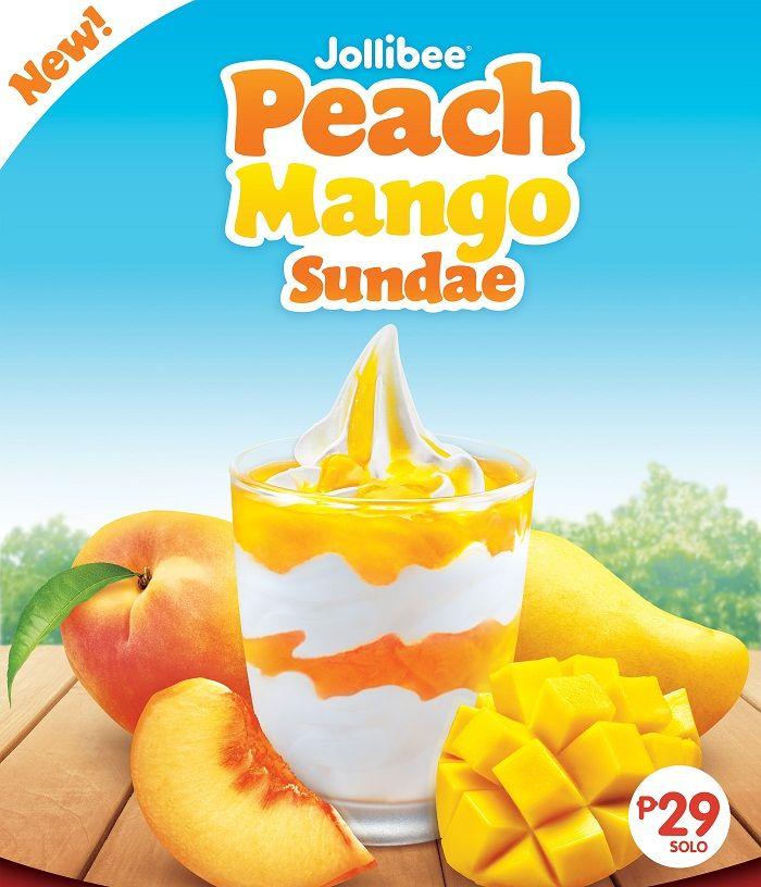 Jollibee Peach Mango Sundae