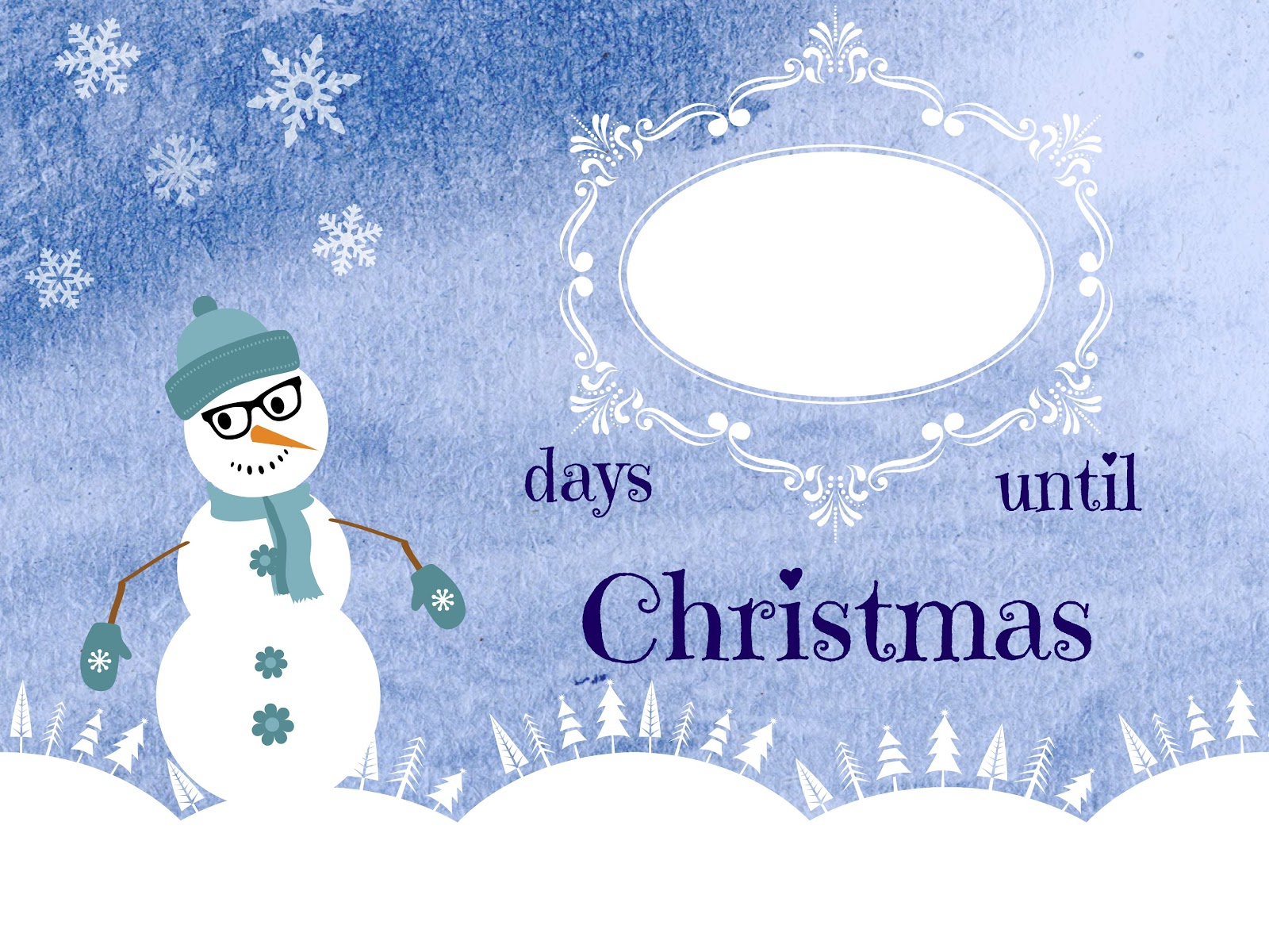 Crafty in Crosby: Christmas Countdown Printable