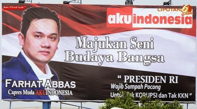 Tidak Terpilih Jadi Anggota DPR RI, Farhat Abbas Gila?