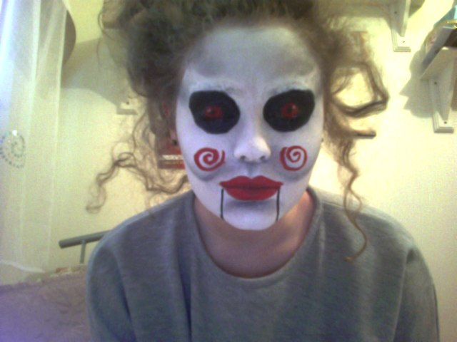 Gallery For gt Easy Scary Face Paint