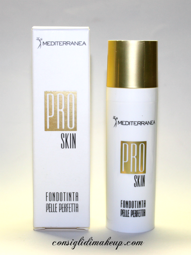 Review: Fondotinta Pro Skin - Mediterranea