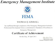 FEMA PDS The Professional Development Series