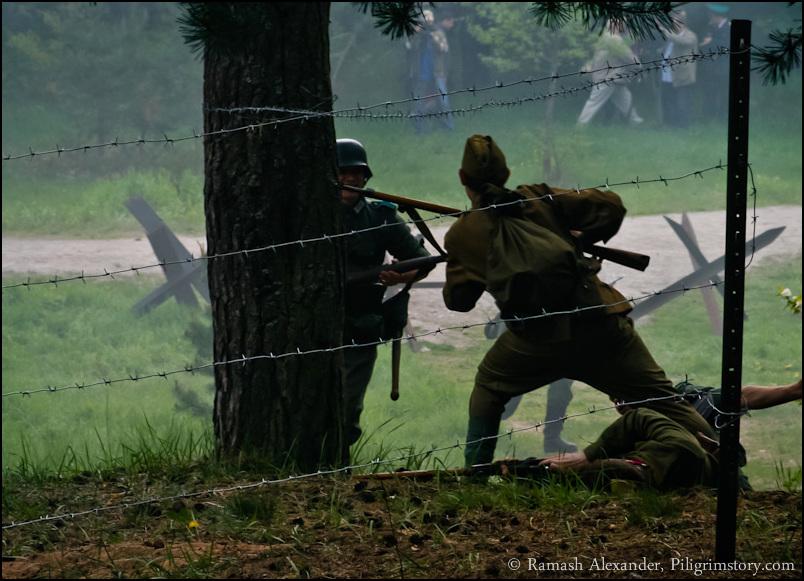 Несмотря на героизм советских солдат