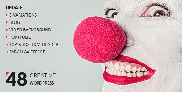 download 48 Creative Wordpress Template