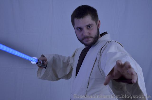Jedi Kostüm Obi-Wan Kenobi Episode 3 selbst genäht