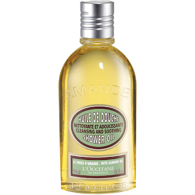 L'Occitane, L'Occitane shower oil, L'Occitane Almond Shower Oil, almond, bath oil, bath and body, shower oil, shaving cream, shave oil, shave cream, shaving oil