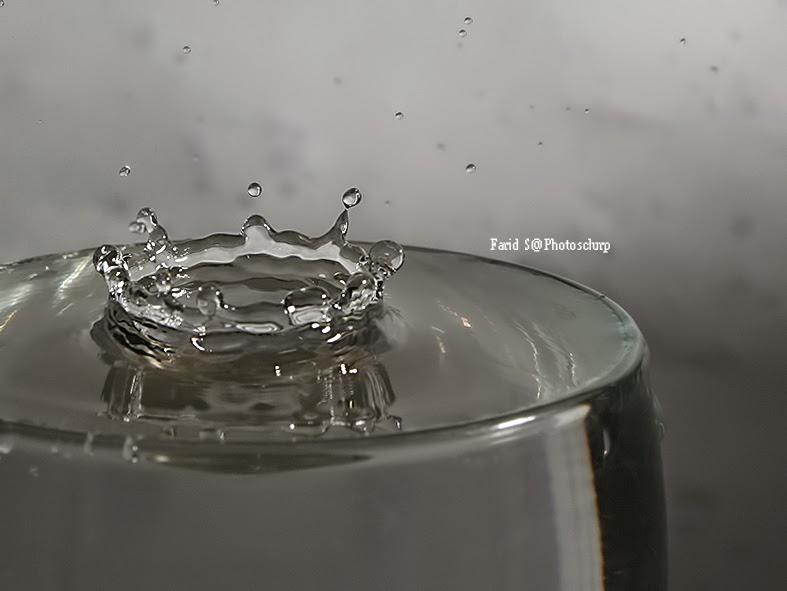 foto tetesan air