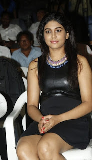 Mannisha Yadav in Leather Top and Black skirt at a function Spicy Pics