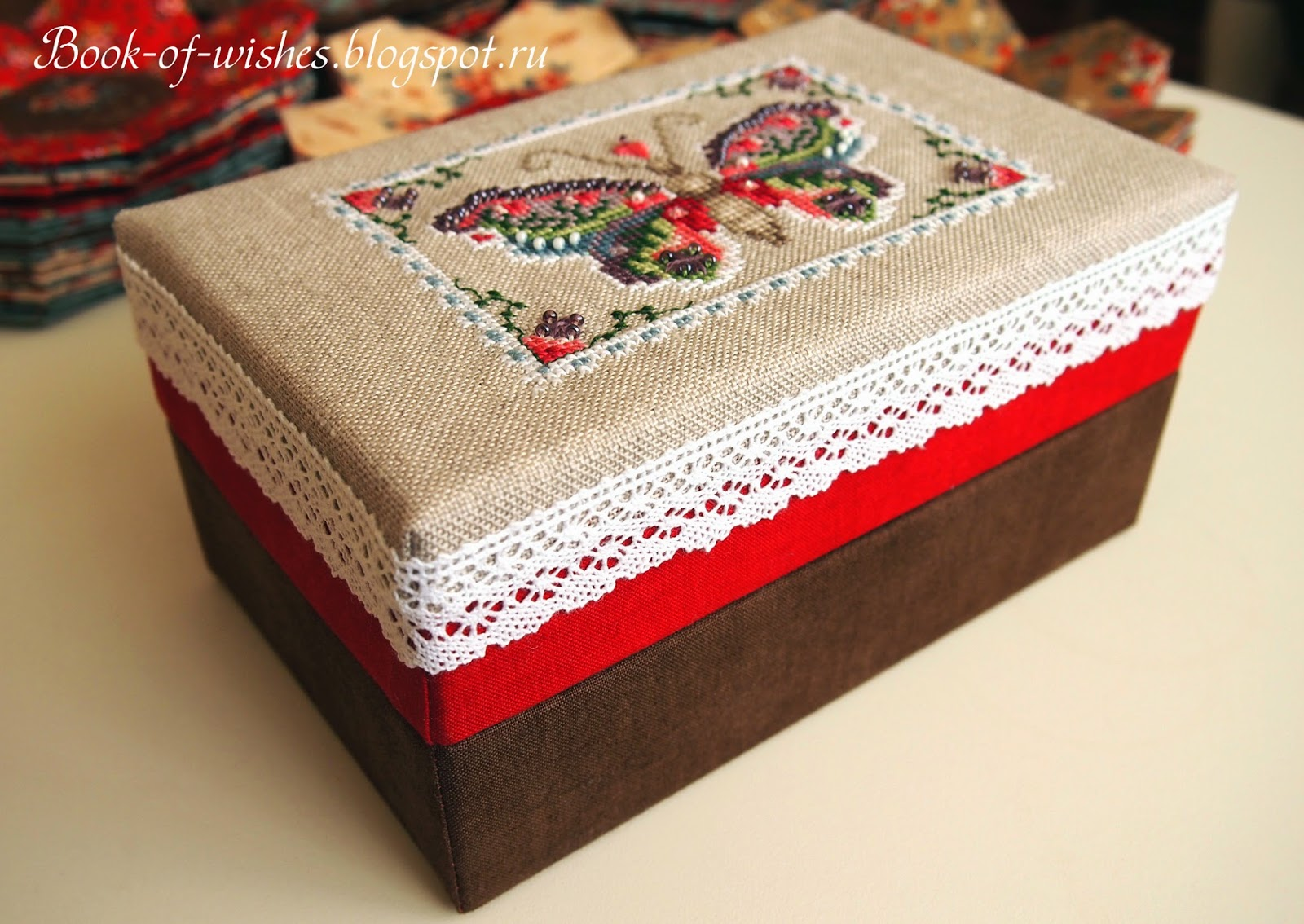 box for needlework