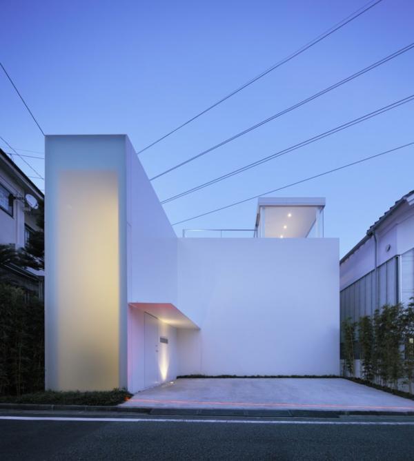 Casas con fachadas minimalistas todo sobre fachadas for Casa minimalista japonesa