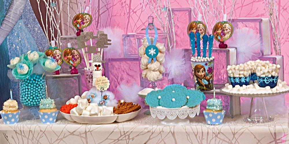 Thanks To Birthday Express And Their Amazing Selection Of Party Supplies My Whole Family Enjoyed A Magical Adventure With Elsa Anna Olaf All