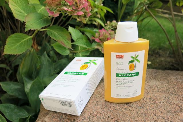 Klorane - szampon na bazie masła mangowego.