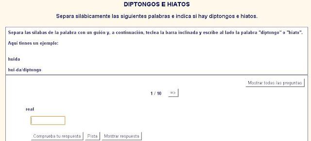 http://www.materialesdelengua.org/WEB/hotpotatoes/ortografia/diptongoshiatos.htm