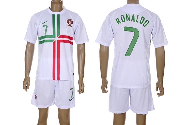 Cristiano Ronaldo Jersey  Away  Portugal 2012 Wallpaper