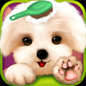 Little Pet Salon App iTunes App Icon Logo By Bear Hug Media - FreeApps.ws