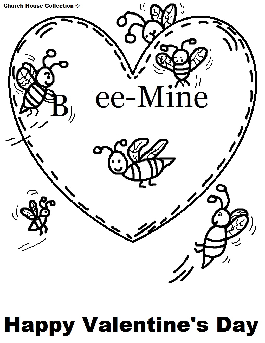 valentine coloring stationary pages - photo#24