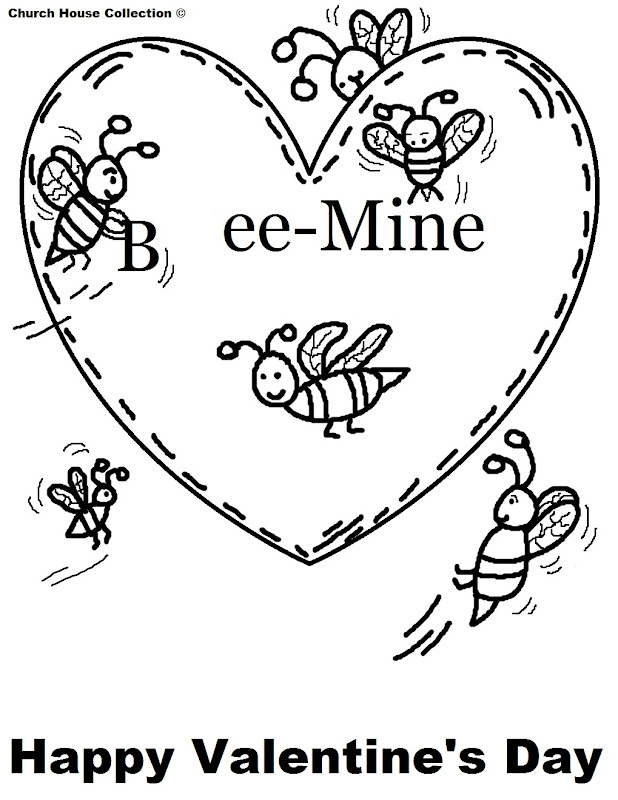 Free printable Happy Valentine's Day Coloring Pages for School or at  title=