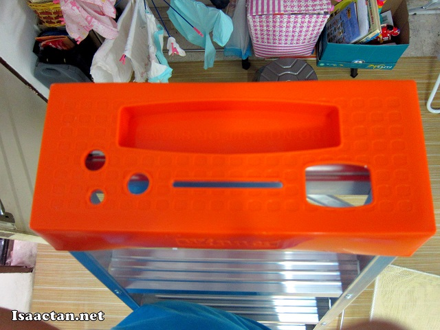 A useful tool tray incorporated into the top of the Winner Ladder