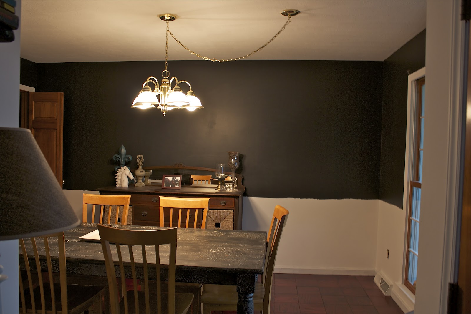 Dining Room Progress Living Quarters On A Dime