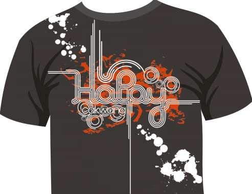 Itulah Gambar Desain Kaos Distro Untuk Anda Pengunjung Blog Warung