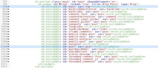 Code folding (untuk menggumpulkan/menyembunyikan satu kelompok kode)
