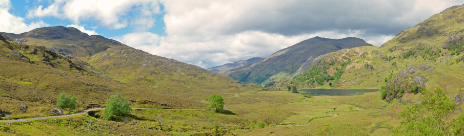 Kinloch Hourn, Western Highlands, during my May, 2011 visit