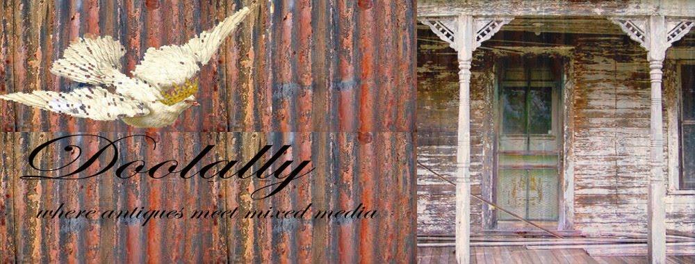 Doolally - where antiques meet mixed media