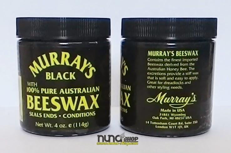 Pomade Murrays Black Beeswax - Mintyak Rambut