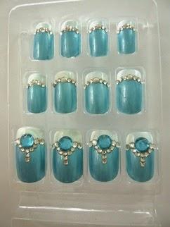 motif 3d nails art