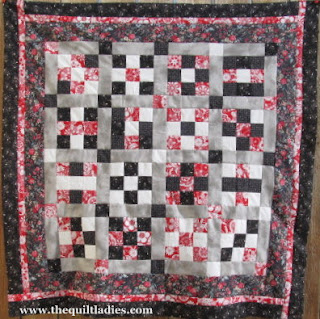 making a 9-patch quilt