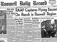 roswell incident - A shot from roswell daily record