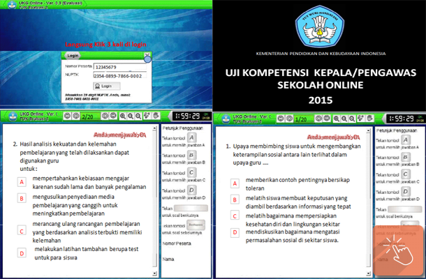 Aplikasi Pelatihan UKG (Uji Kompetensi Guru) Mandiri