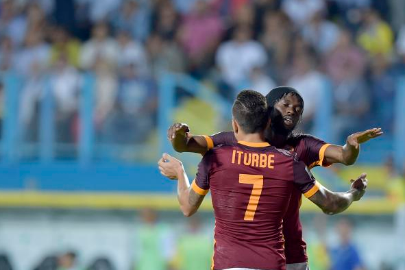 Juan Manuel Iturbe AS Roma