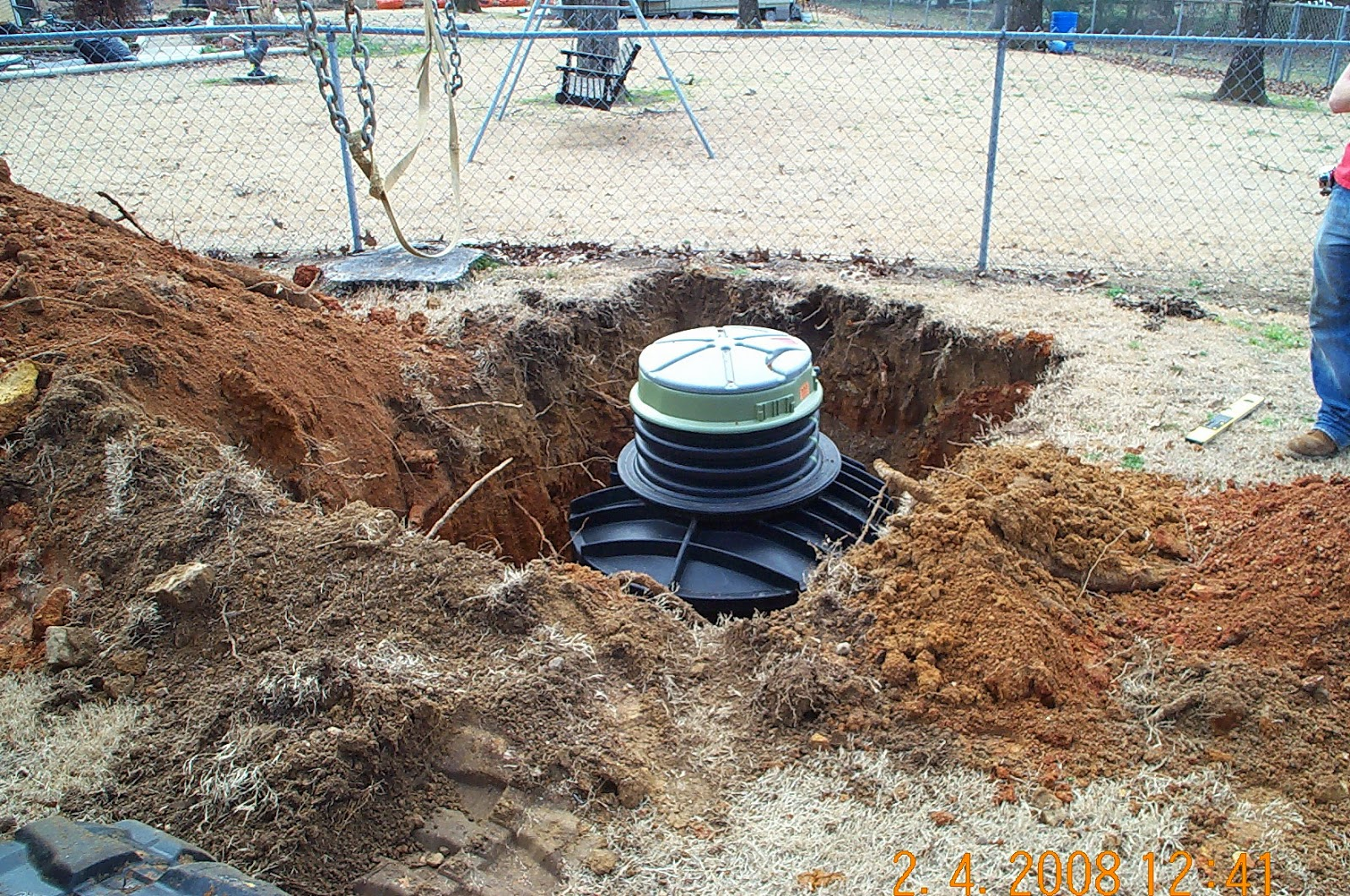 E one sewer systems case study grinder pumps fuel for Residential sewer systems