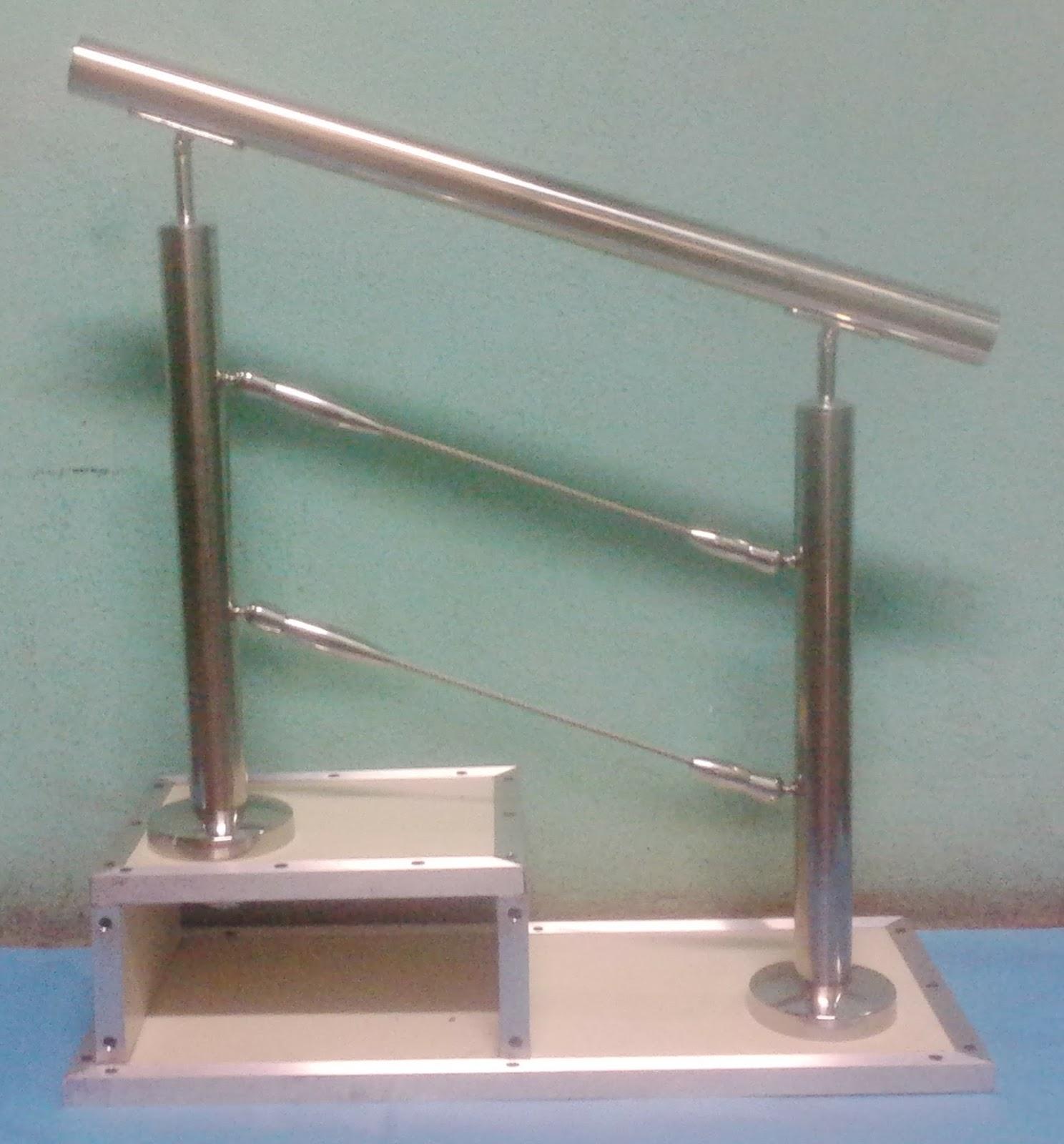 Galvanizado en caliente en nicaragua - Escalera con tensores de acero ...