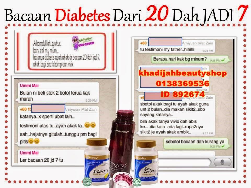Testi Vivix Untuk Diabetes