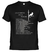 camiseta guardia de la noche - Juego de Tronos en los siete reinos