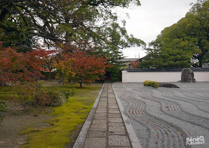 紅葉 - 承天寺、福岡