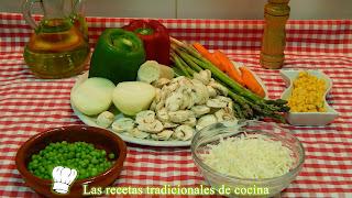 Receta fácil de verduras al horno con queso