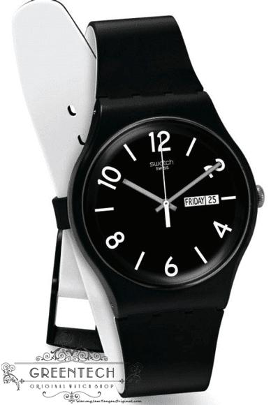 Swatch BACKUP BLACK SUOB715