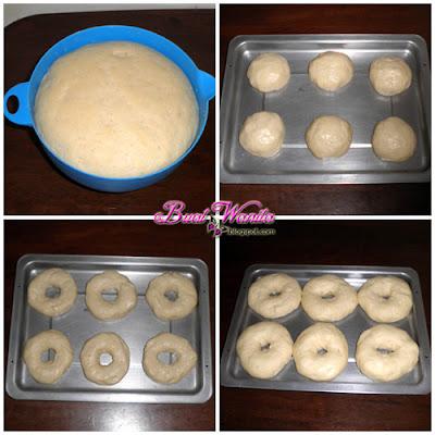 Resepi Roti Bagel Lembut Gebu Sedap. Cara Buat Doh Roti Bagel Lembut Sedap Simple Senang
