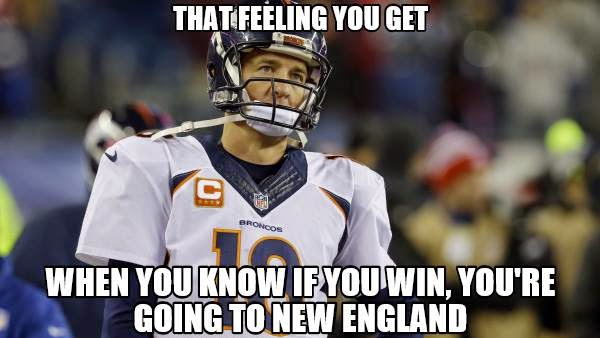 That feeling you get when you know if you win, you're going to new england