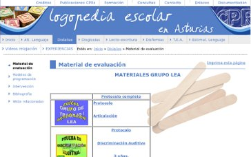 LOGOPEDIA ESCOLAR EDUCASTUR